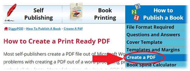how to create a pdf book