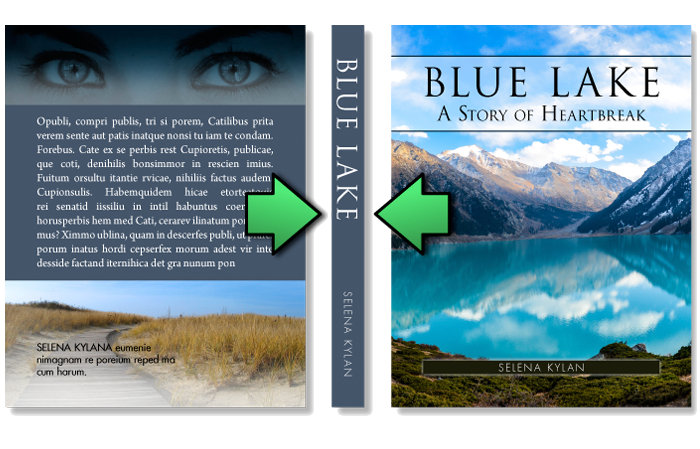 Book Cover Design Microsoft Word : Book cover template free ms word templates